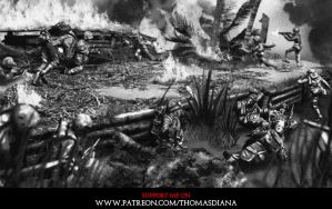 The Edge of Darkness - Bloody Tarawa by Qsec