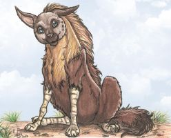 Kantayeni brown hyena contest entry by SkekLa