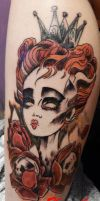 queen by kama-tattoo