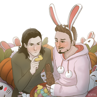 Happy Easter Loki by Batwynn