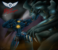 Gipsy Danger by Lazarus-Firenze