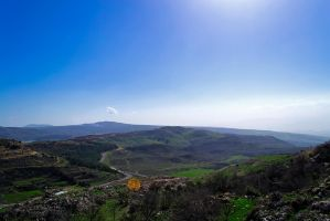 At the foot of Hermon mountain by GorALexeY