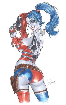 Harley Quinn new 52 by Elias-Chatzoudis