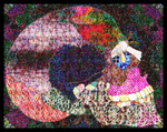 Skull goes psychedelic by Leichenengel
