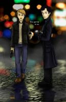 BBC Sherlock - The game is on. by Brainiac6Techgirl