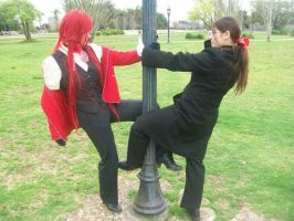 Grell: Two sides, One soul by Xomy