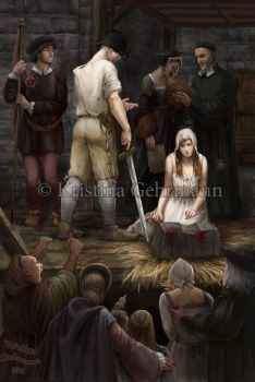 TheExecution of Lady Jane Grey by KristinaGehrmann