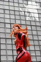 Asuka Strikes! by nyunyucosplay