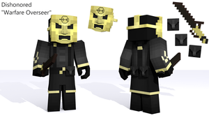 Dishonored (Warfare Overseer) Concept =Minecraft= by Kristian08-Captain