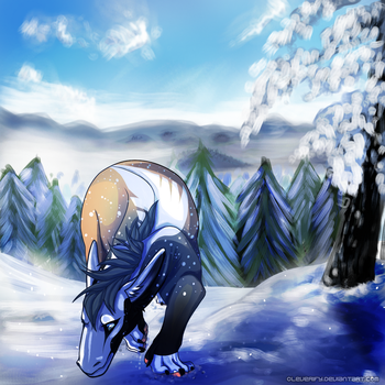 A Day in the Snow by Cleverify