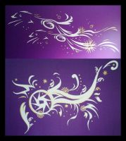 Walldesigns by mooni