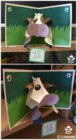 cow card by Luna2330