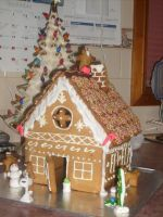 Gingerbread House by jess13795