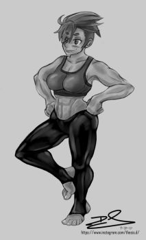 Work Out Vivian by Thesis-D