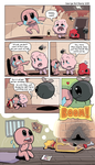 Binding of Isaac: Comic Tribute by GeorgeRottkamp