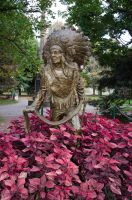 Native Indian Statue by FairieGoodMother