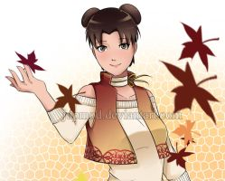 Tenten: Ready for Autumn (Close-up) by JuPMod