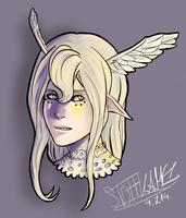 Commission: Icarus for CreativeCorpse by Stoffkamel
