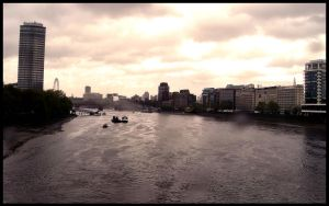 River Thames, London by Giadini