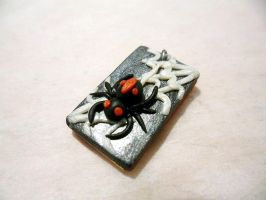 Spider Web Pendant by Saru-Hime