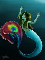 Day 5 Mermaid, CLOSED by Unseenivy253