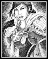 Portrait of a Paladin by M-Everham