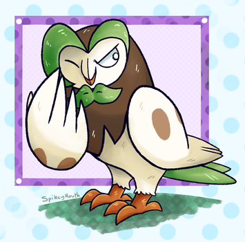 Dartrix - 002 by The-Spikey-Mouth