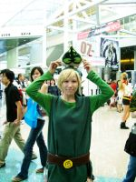 Wind Waker at the Expo by vifetoile
