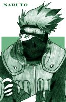 Kakashi by Elizabuffy