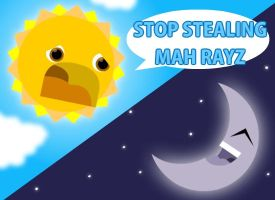 Stealing Mah Rayz by Lord-of-the-crayons