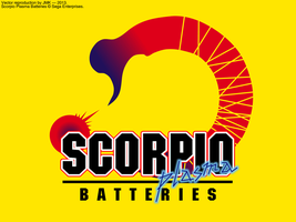 Scorpio Plasma Batteries - Vector Rendition by JohnK222