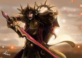 Leona of the Light by Kerozzart