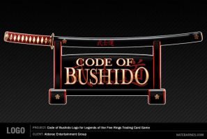 Code of Bushido Logo for L5R by natebarnes