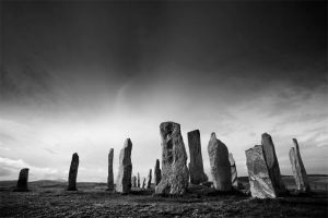 Callanish standing stones by TristanCampbell