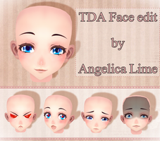 TDA Face edit by Angelica-Lime