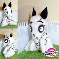 Sparky Plushie (Frankenweenie) by tonksiford