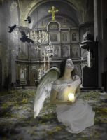 Angel at the Altar by futuregrrl