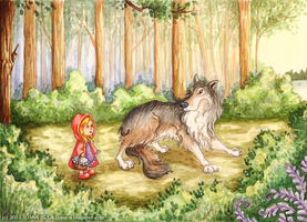 Little Red Riding Hood by Ilona-S