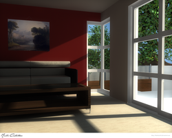 House Interior Design 1 by TheDrake92