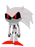 Silver Sonic I by EternalInsanity787