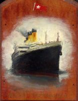 The R.M.S Titanic by napalmnacey