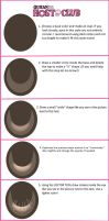 How to draw anime eyes Ouran Host Club style by Amelienneko