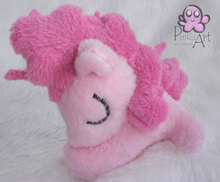 Sleeping Pinkie Pie filly plush by PinkuArt