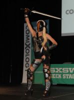 Deathstroke SXSW Cosplay Competition by thejoannamendez