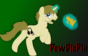 Pewdiepie Pony: Digital by WillowTails