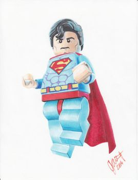 LEGO Superman by 0niVIRexe
