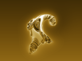 Gold Creature by Undead-Academy