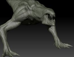 Riddick 3D Creature Model by FoxHound1984