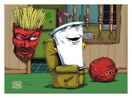 Aqua Teen Hunger Forged by EuphoriouSin