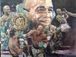 Floyd Mayweather Painting by muzzy002